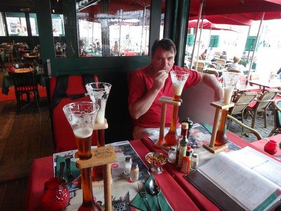 Cafe des Arts: Наш выбор пива