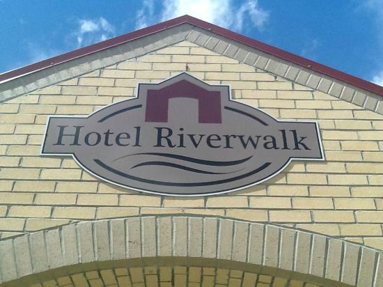 Hotel Riverwalk: WELCOME