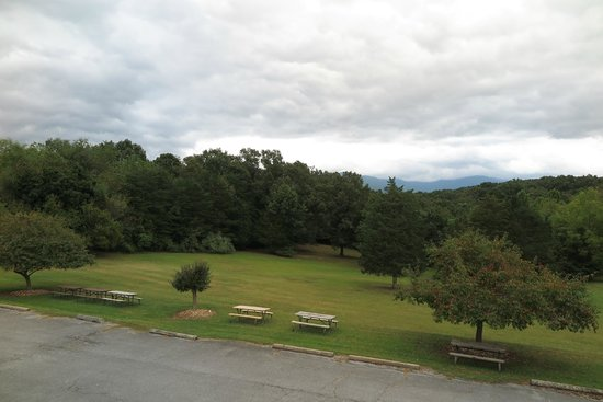 Luray Caverns Motel East: Blick aus dem Zimmer