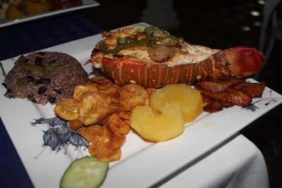 Hostal Jose y Kirenia: Lagosta deliciosa
