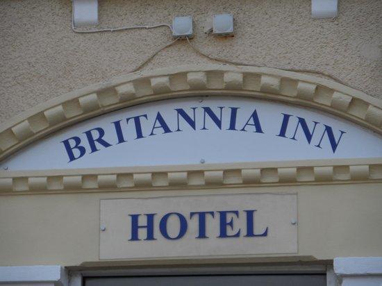 Britannia Inn: Devant de l'hôtel