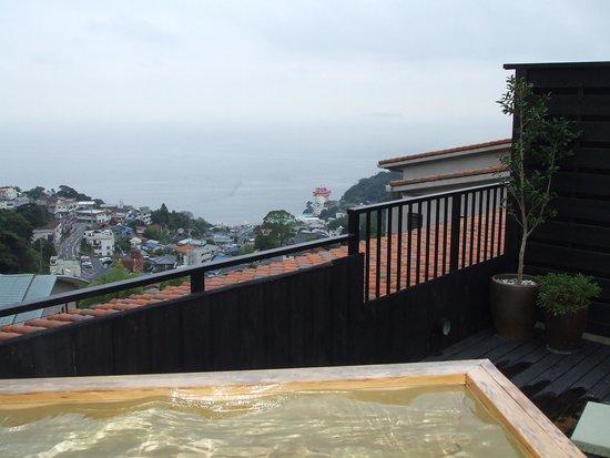 La Vista Izusan: 貸切露天からの眺望