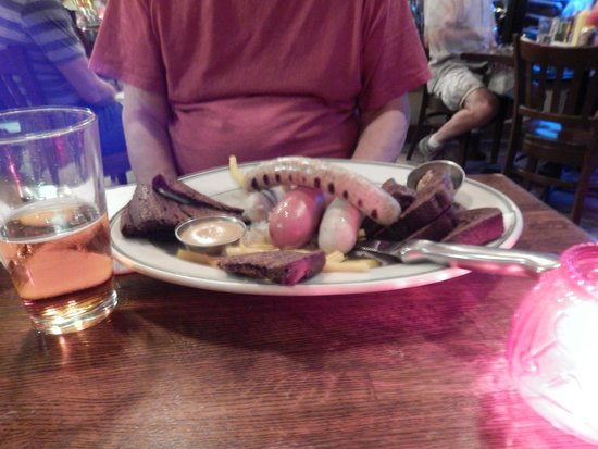 The Old Fashioned : The Wurst Platter
