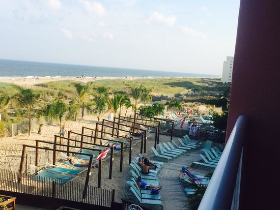 Holiday Inn Ocean City : View from the balcony
