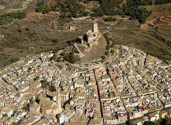 Vista desde lo alto del castillo de Biar: fotografía de Castillo ...