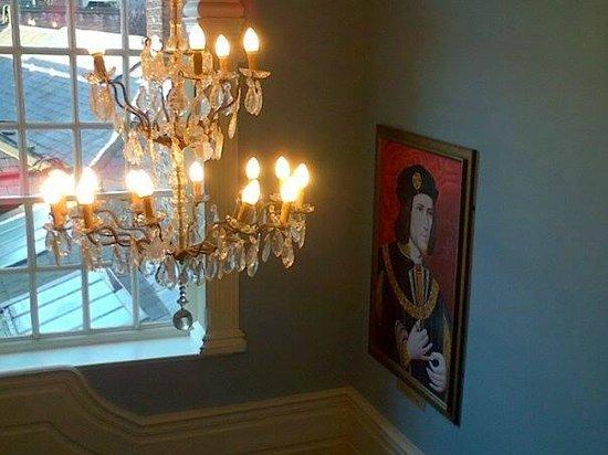 Safestay York: King Richard III on the staircase
