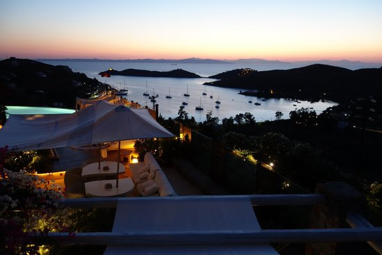 Aigis Suites Kea: View from our suite