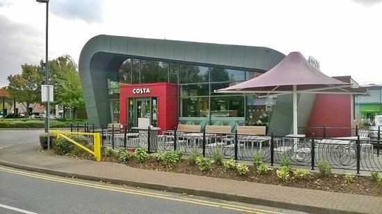 Costa Coffee,  Wyvern Retail Park