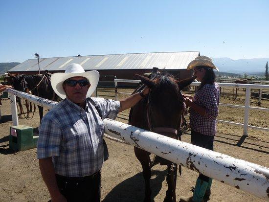 Sombrero Stables at Snow Mountain Ranch: cabalgata en familia