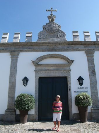 Quinta do Monteverde: Original Front Entrance