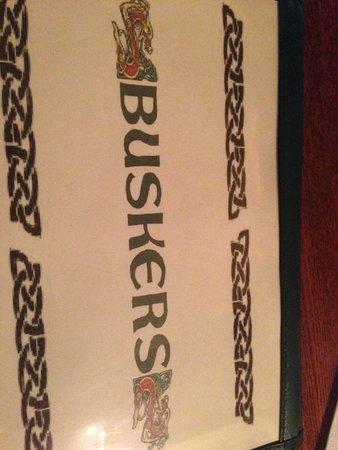 Busker's : menu