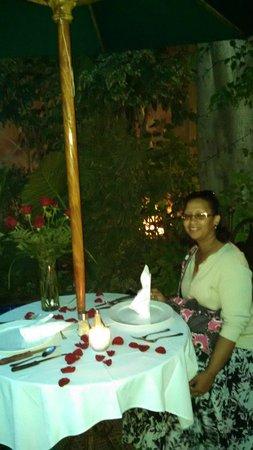 Restaurante Las Antorchas: Anniversary dinner
