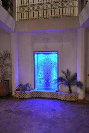 Riad Ida Ou Balou: fountain