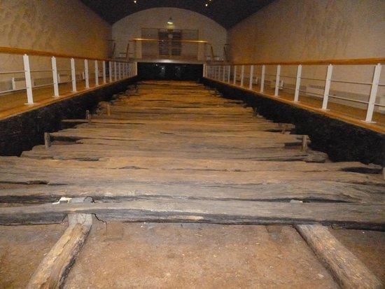 Corlea Trackway Visitor Centre: The trackway