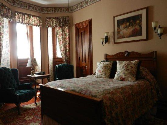 Harry Packer Mansion Inn: Linderman's Room