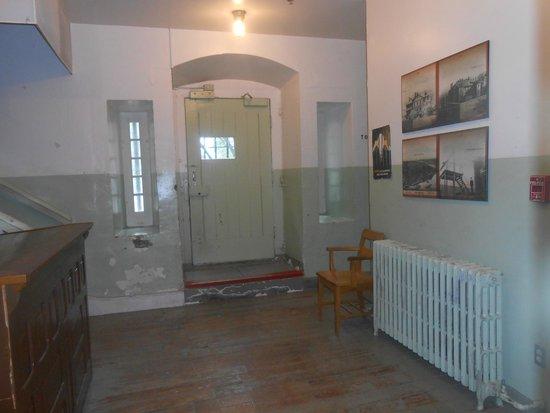 Vieille prison de Trois-Rivières : Ingresso