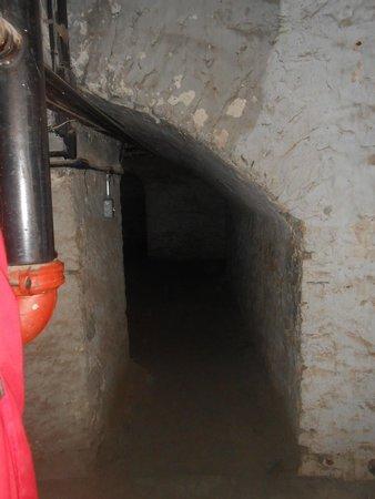 Vieille prison de Trois-Rivières : Celle sotterranee