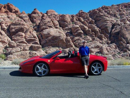 Vegas Luxury Rides: Ferrari at Red Rock
