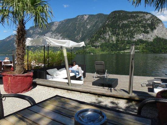 Terraza Y Lounge Picture Of Restaurant Im Seehotel Gruner