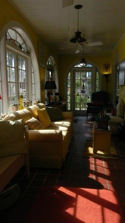 Casa de Suenos Bed and Breakfast: One of Two Gathering Areas (different angle)  - sit, relax, enjoy some coffee and read