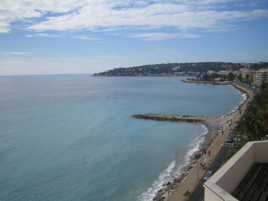 Hotel Riva: vue du jacuzzi