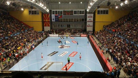 Sport Center Boris Trajkovski: RK Metalurg vs PSG   , EHF Champions League 28.09.2014