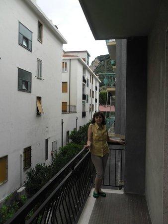 Residenza Adelaide : Вид с балкона на гору
