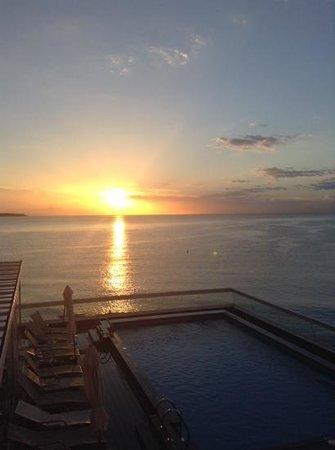Hotel Spa Porta Maris & Suites del Mar: amanecer desde la habitacion!