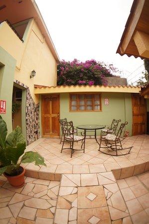 Hotel Cafe Jinotega : Terraza
