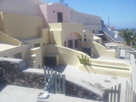 Ambelia Traditional Villas: terrasse