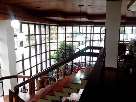 Buganville Palace Hotel: Parte da recepção