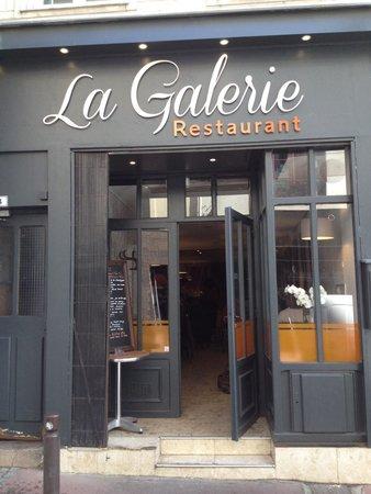 Facade De Restaurant façade resto - picture of la galerie restaurant rouen, rouen