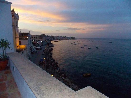 Villa Lieta: view from roof terrace toward Ischia town centre