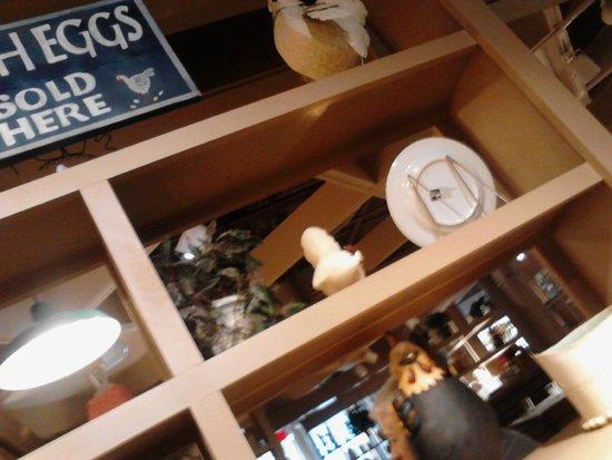 Egg Harbor Cafe: Cute, quaint decor