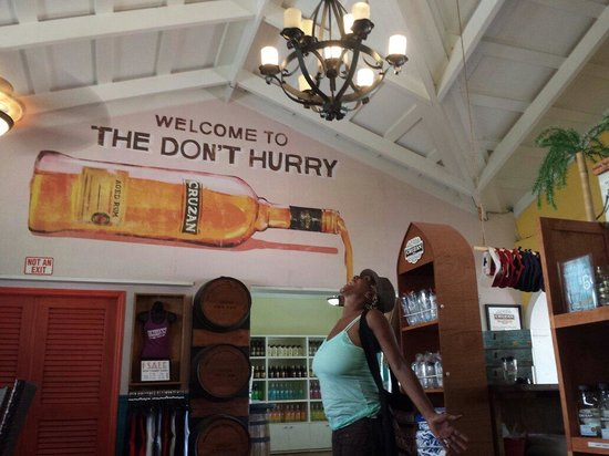 Cruzan Rum Distillery: This is so me lol