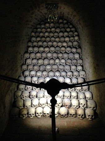 Ossuary underneath the Church of St. James: Ossuary