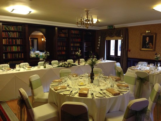 Quorn Country Hotel: Wedding set up