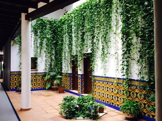 Hotel Porfirio: Beautiful interior