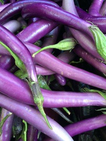 Portland Farmers Market : Eggplant Eye Candy