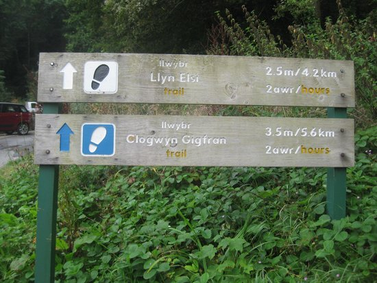 Coed-y-Fron Guest House: Hike up and around Lake Elis
