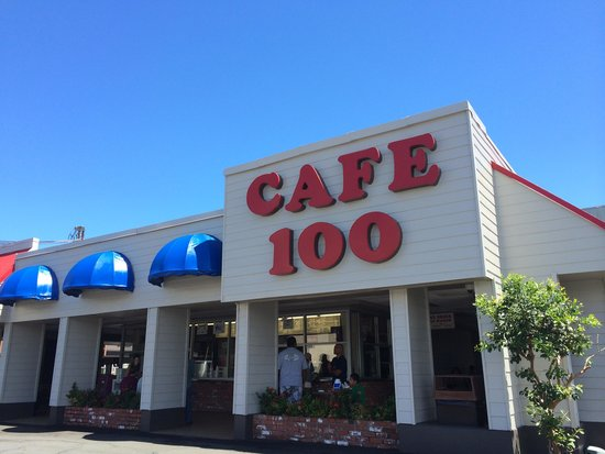 Cafe 100: Front of the Restaurant