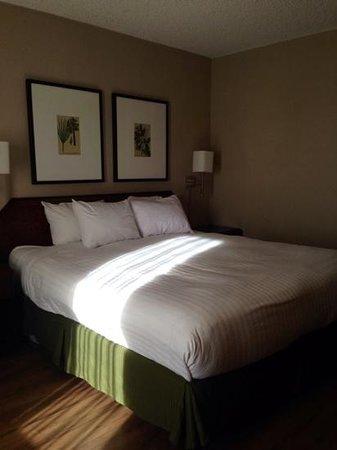 Vagabond Inn - San Diego Airport Marina: Our king room.
