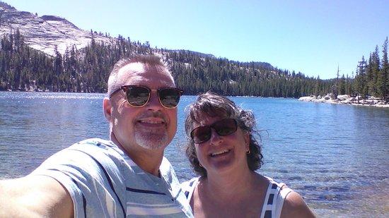 3 Peaks Resort & Beach Club: My Wife and  enjoying God's Beatiful Creations