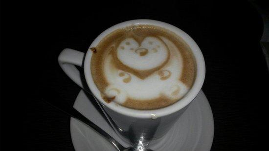 Choco Cafe: Moccacino con corazón