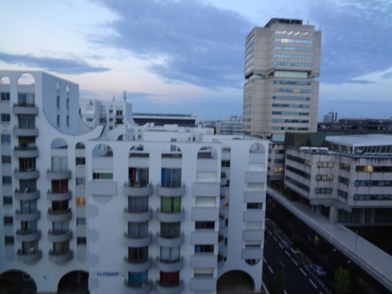 Novotel Bordeaux Centre : view from the room