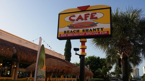 Beach Shanty Cafe: Breakfast was as advertised.