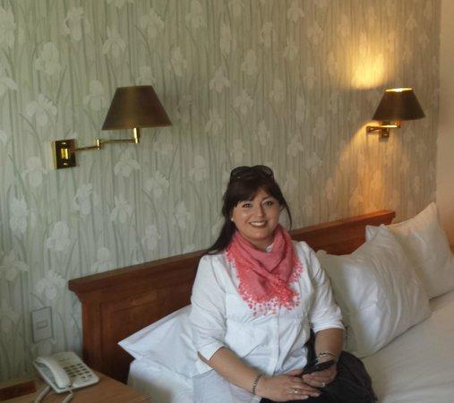 Hotel Bidasoa: En mi habitación exquisita.