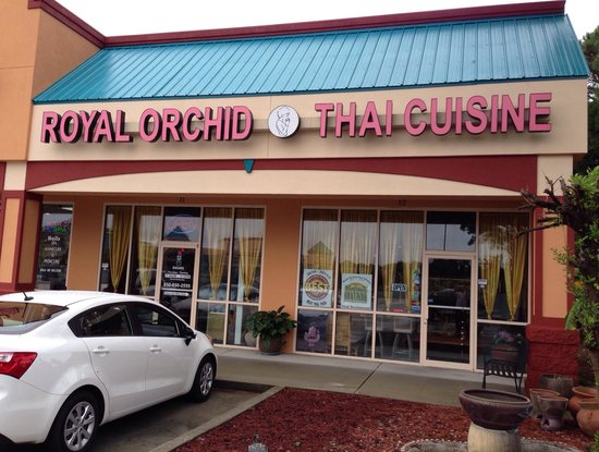 Royal Orchid Thai Cuisine: Here we are...