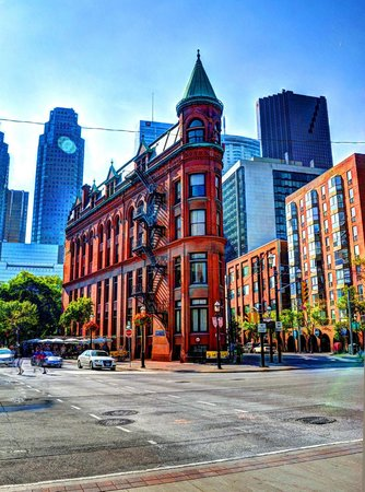 Gooderham (Flatiron) Building: Reportedly Toronto's most photographed building