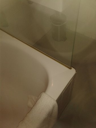 Portugal Ways Conde Barao Apartments: Filthy shower screen